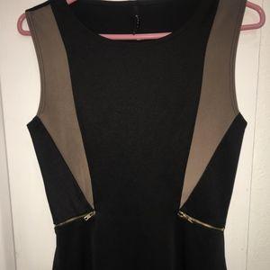 Sleeveless formal blouse